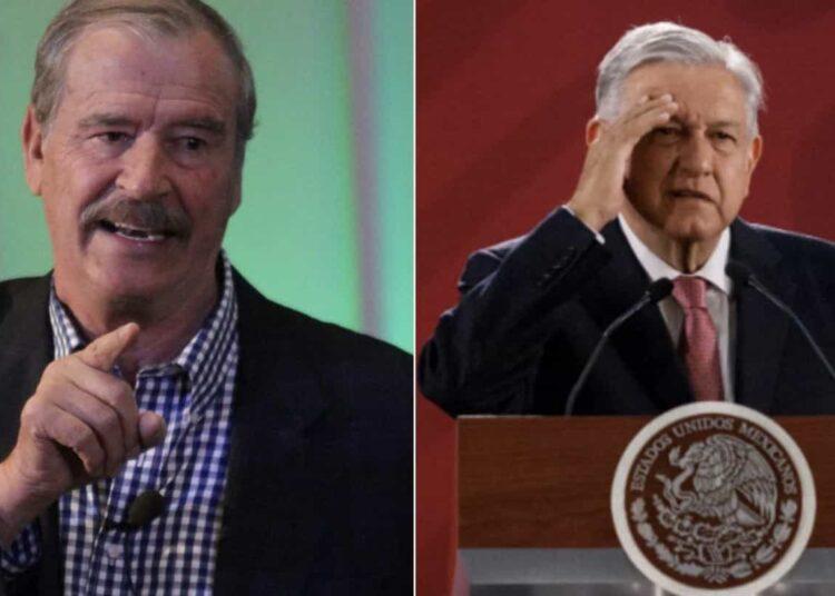 """El expresidente del PAN (2000-2006) dijo que AMLO tiene a México """"hecho un desma...""""."""