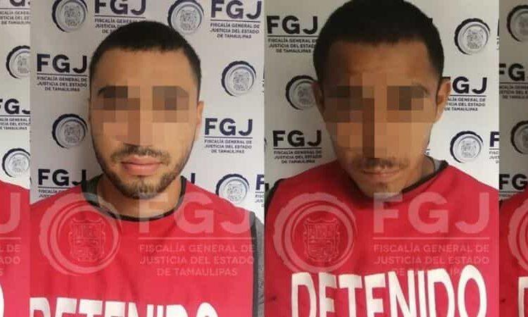 Elementos policiales lograron capturar a cuatro integrantes del Cártel del Golfo que estarían relacionados con la masacre en Reynosa donde 15 personas perdieron la vida