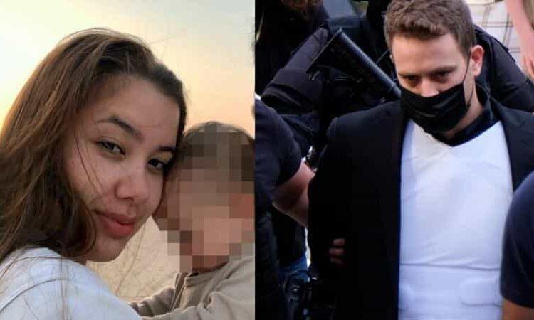 Las escalofriantes imágenes de Babis Anagnostopoulos con su bebé de 11 meses en sus brazos fueron reveladas; minutos más tarde mató a su esposa Caroline Crouch