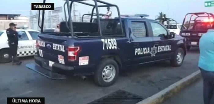 De acuerdo a primeros reportes, en los disturbios también se registraron nueve personas lesionadas.