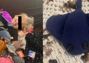 Mujer tejió un regalo de cumpleaños para su hijo porque no tenía dinero para hacerlo