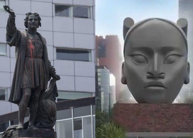 Tlali ya no será la que ocupe el espacio del Monumento a Colón