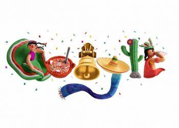A través de su Doodle, Google rindió homenaje a los elementos que simbolizan la herencia de la cultura de México.