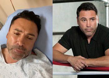 'No puedo respirar bien'; Óscar De la Hoya, hospitalizado por covid-19 y se pierde su pelea