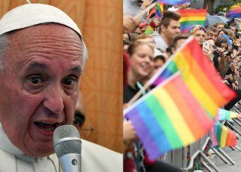"""El pontífice aseguró que la Iglesia católica está con la ideología """"de volver atrás, de colonizar mentes""""."""