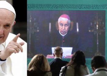 """""""Omisiones que no contribuyeron a la evangelización"""" Papa Francisco se disculpa con México por excesos de la Iglesia Católica"""