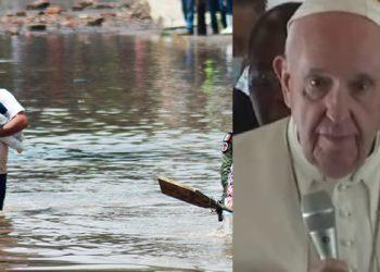 Papa Francisco lamenta inundaciones en México y pide por víctimas y familiares