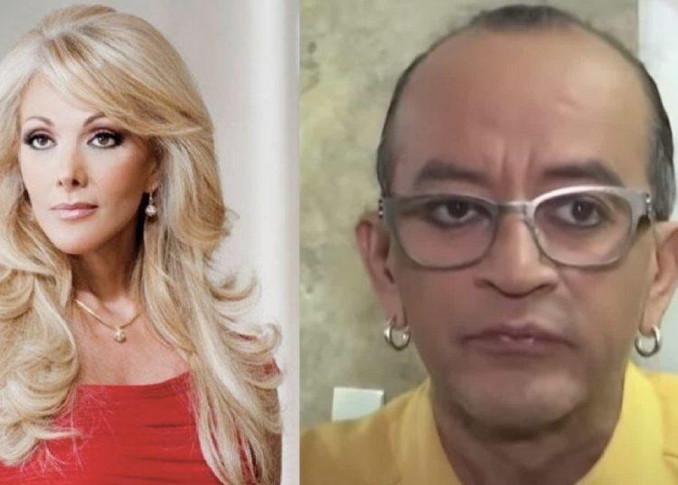 La guapa actriz de telenovelas no quiso besar a uno de los mascabrothers y causo el descontento y asombro de sus compañeros