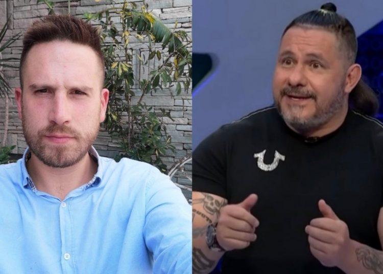 """P... ma..."" Alberto Lujambio acusa a David Páramo de homofóbico"