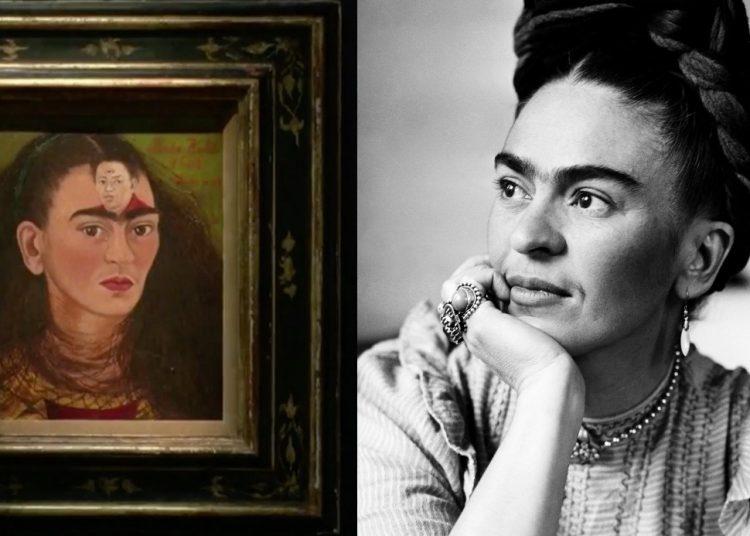 Autorretrato de Frida Kahlo sale a subasta con una cifra de más de 30 millones de dólares