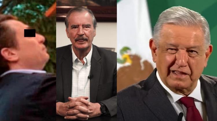 """""""Ya compraron sus cachitos para la rifa de una cena con Emilio Lozoya"""": Vicente Fox se burla de AMLO"""