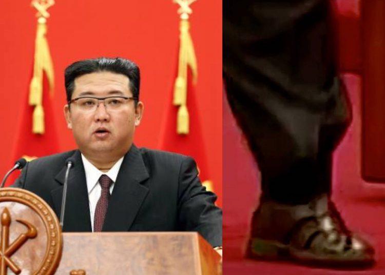El líder norcoreano atrajo la atención de analistas y expertos por llegar en sandalias y traje a la conmemoración de la fundación del partido gobernante de Corea del Norte
