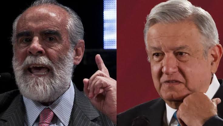 """""""Es un honor que el Tartufo Obrador me acuse de traidor"""" dice Diego Fernández de Cevallos"""