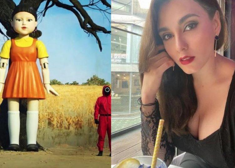 """Fernanda la actriz mexicana que participó en la serie """"El juego del calamar"""""""