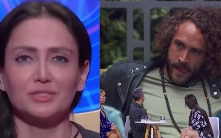 """"""" Yo te puedo perjudicar"""": Celia Lora lanza amenaza a Roberto Romano a su salida de """"La casa de los famosos"""""""