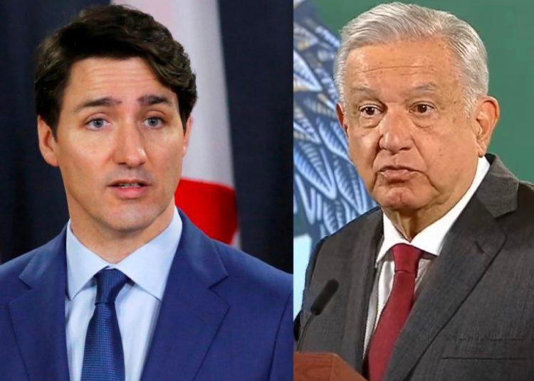 AMLO felicita a Trudeau por tercer mandato como primer ministro de Canadá