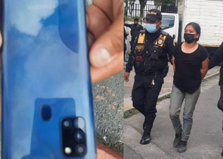 Repartidor agradece a su GPS lograr recuperar su celular de una ladrona
