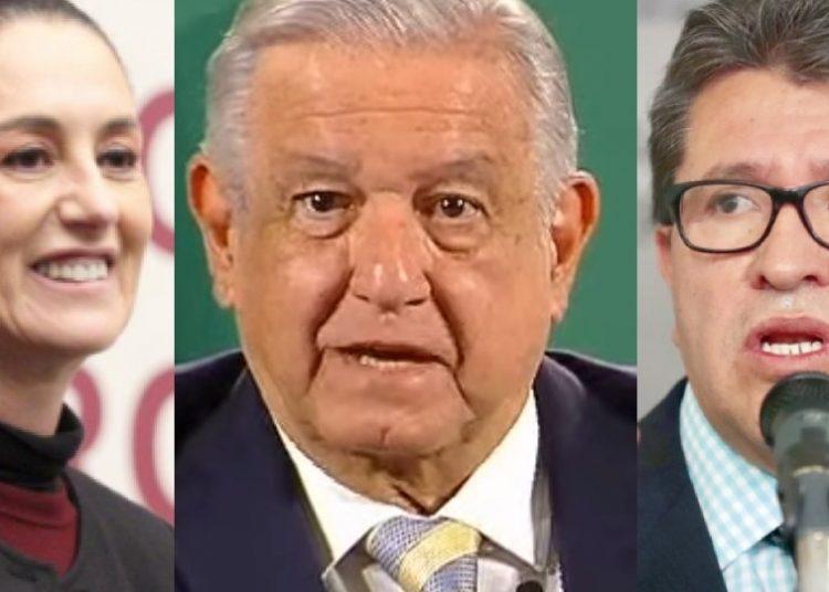 Sheinbaum a favor de la encuesta propuesta por AMLO y Monreal, en contra para definir al candidato presidencial de Morena rumbo al 2024
