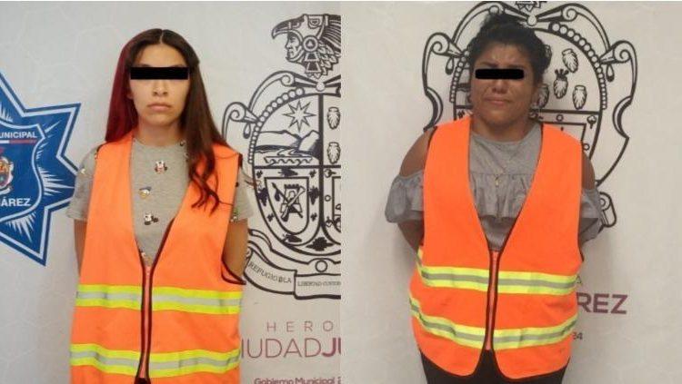 Arrestaron a dos mujeres por robar en tiendas