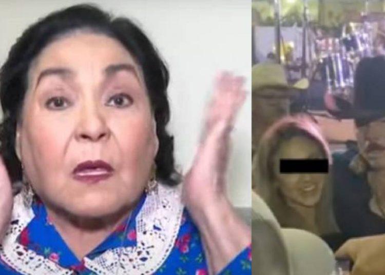 Carmen Salinas dice que Lalo Mora está enfermo por acosar a una fan