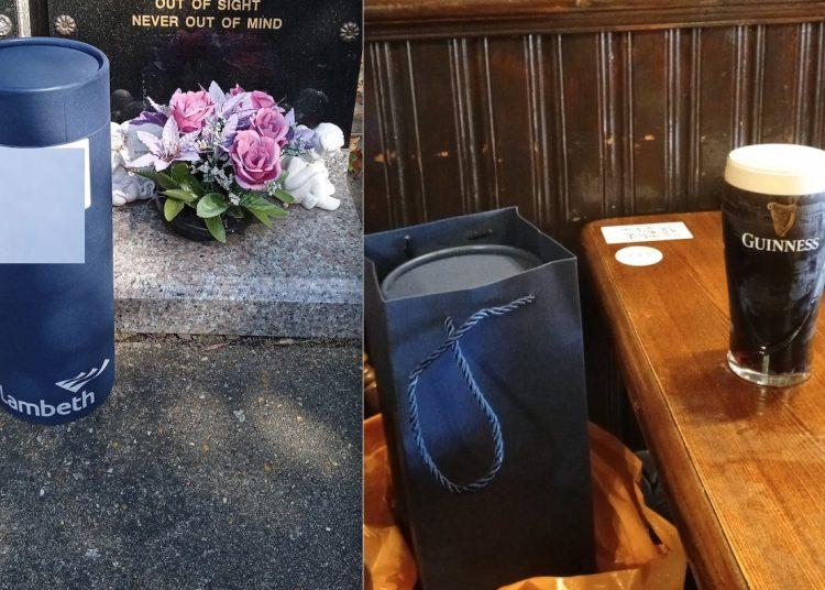Hombre pierde las cenizas de su madre tras una borrachera; no recuerda nada