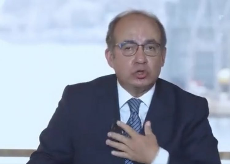 En una reunión con españoles del Partido Popular, Felipe Calderón intervino sobre la polémica petición de México para que pida perdón por la conquista.