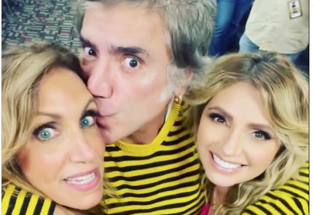 Angélica Rivera posa muy cariñosa junto a Alejandro Fernández y Lili Estefan