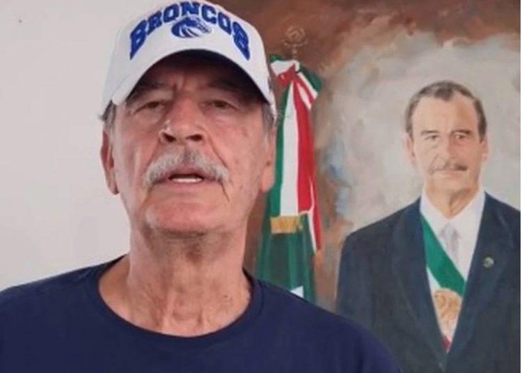 Vicente Fox cobra 6 mil pesos por mandar saludos y felicitaciones