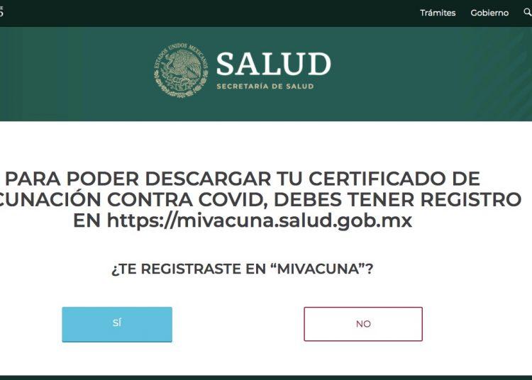 Exigirán el certificado de vacunación para cruzar a EU