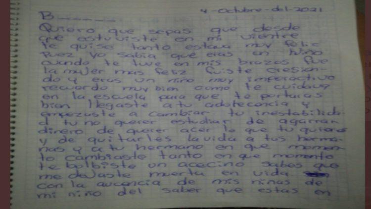En septiembre del año pasado Braulio asesinó a sus hermanas de 12 y 7 años