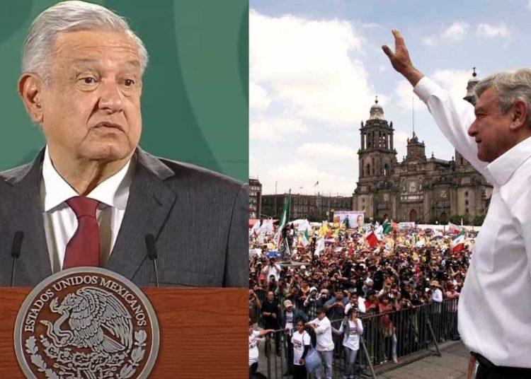 """El mandatario mexicano aseguró que las asambleas serán cuidadosas, """"dependiendo las circunstancias"""""""