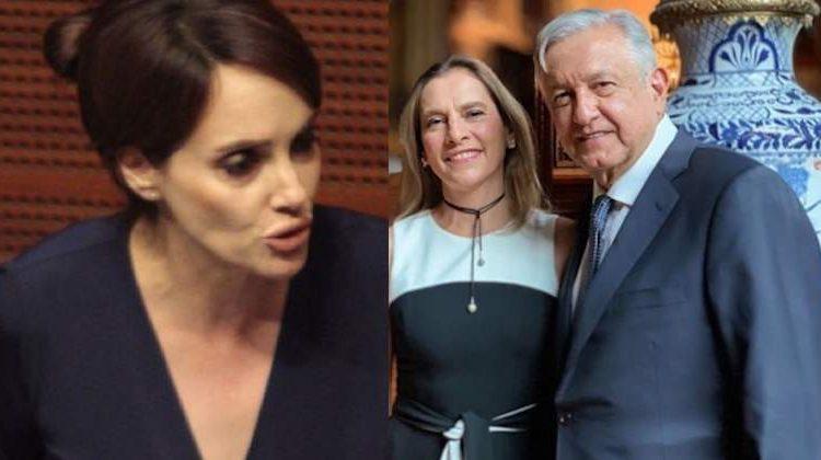 Lilly Téllez agradeció el mensaje de apoyo de Beatriz Gutiérrez Müller