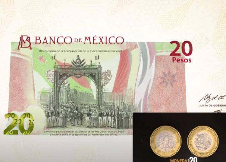 Adiós a los billetes de 20 pesos, serán reemplazados por monedas