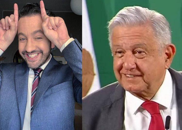 """""""El miedo no anda en burro… anda en ganso"""": Chumel Torres criticó a AMLO por decisión de no asistir al Senado"""