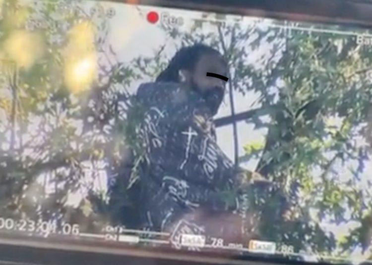 La policía de EU lleva tres días negociando con un hombre para que se baje de un árbol
