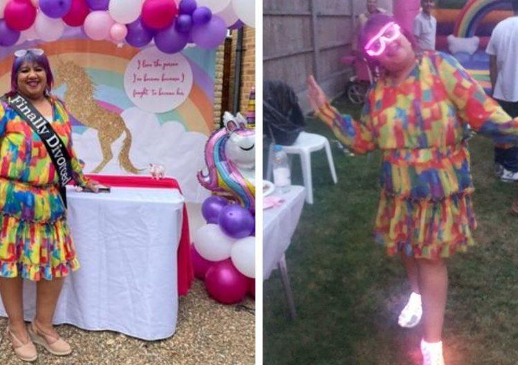 Mujer organiza fiesta de divorcio; vivía en un matrimonio arreglado