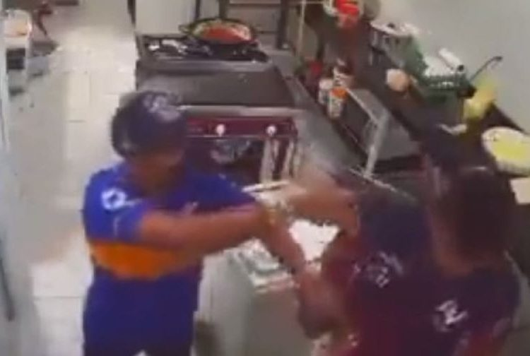Panadero frustra asalto al golpear con rodillo a ladrón