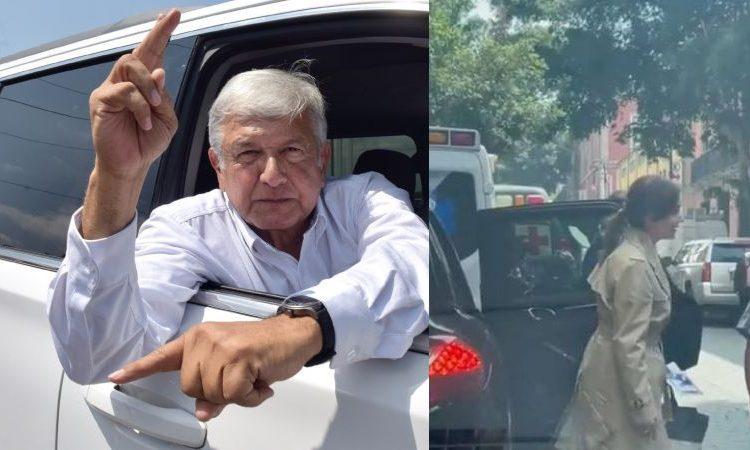 """Lilly Téllez alude a comitiva de """"lujo"""" de AMLO para defenderse de críticas por el Porsche"""