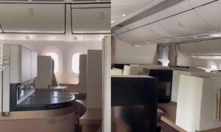Avión hace vuelo internacional con un solo pasajero a bordo