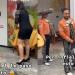 """""""Por infiel le pasó esto"""" hombre recibe pastelazo por infiel y mariachi se burla"""