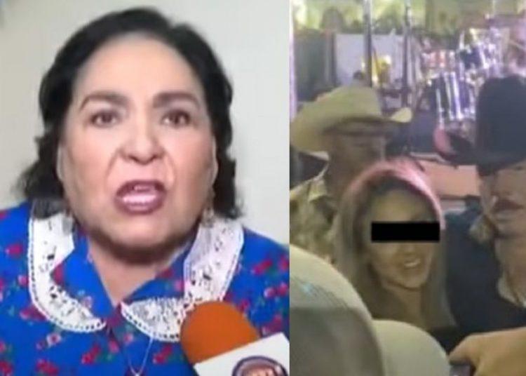 """""""Patán, usted es una basura"""": Carmen Salinas destroza a Lalo Mora por tocar a fan"""