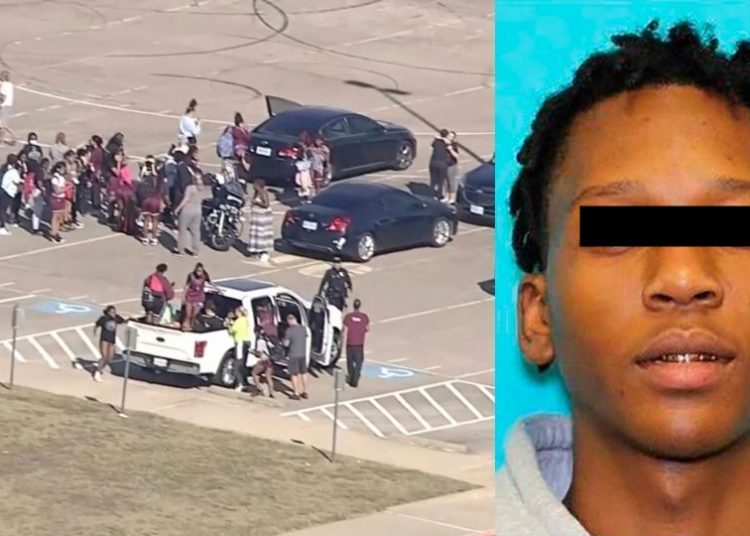 La policía de Arlington confirmó que la detención del sospechoso se llevó a cabo sin incidentes