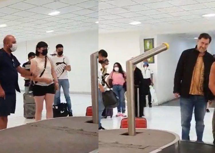 El diputado se escudó diciendo que en México no es obligatorio el uso de cubrebocas