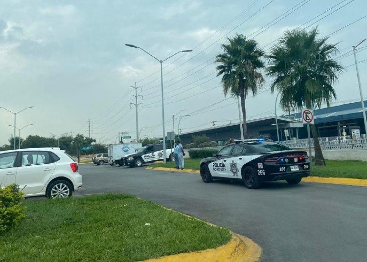 Los hechos ocurrieron en el estacionamiento de una plaza de la colonia Parque Industrial Regiomontano.