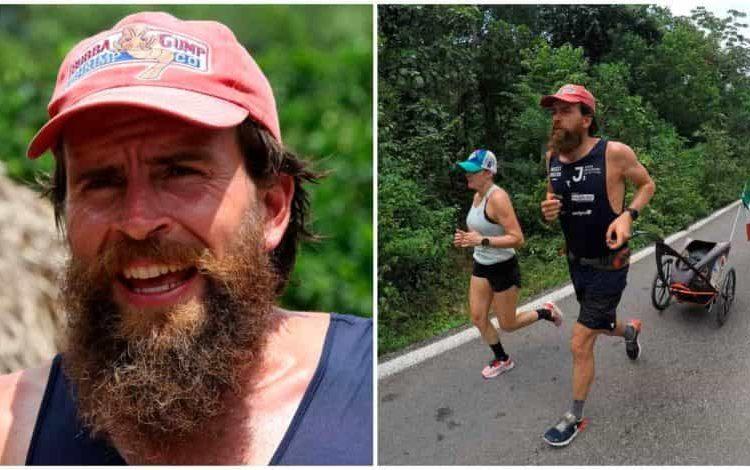 """""""Estoy feliz de llegar a Cancún, después de más de un año de viaje"""", afirmó Deichmann, quien inició en Alemania un triatlón alrededor del mundo en septiembre de 2020 por una buena causa"""