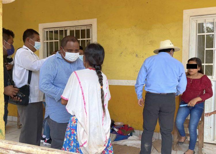 Angélica tiene 15 años, y a los 11 fue vendida para un matrimonio infantil forzado, fue encarcelada en el municipio de Cochoapa el Grande, luego de huir de las agresiones de su suegro que pretendía violarla