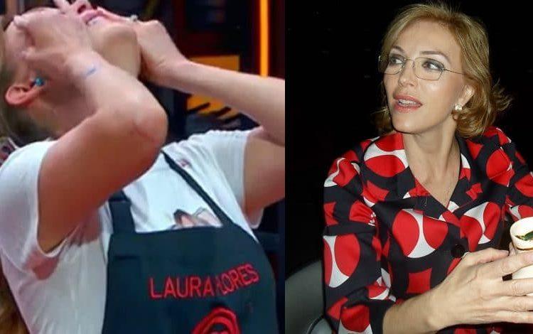 Laura Flores lloró a mares durante el más reciente programa de MasterChef Celebrity, por lo que la calificaron de inmadura.