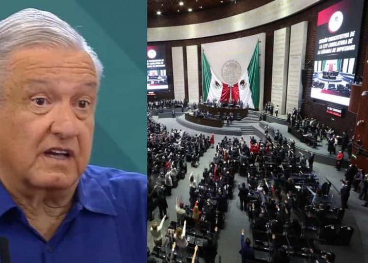 López Obrador advirtió a legisladores que den la cara en caso de que voten en contra de la iniciativa de reforma al sector eléctrico