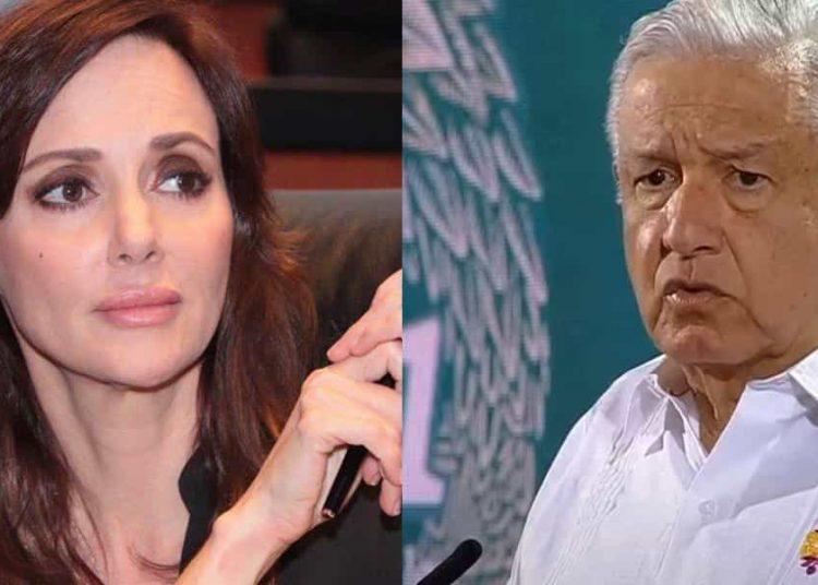 Lilly Téllez utilizó sus redes sociales para invitar a sus homólogos del Senado a que hicieran frente al presidente de México