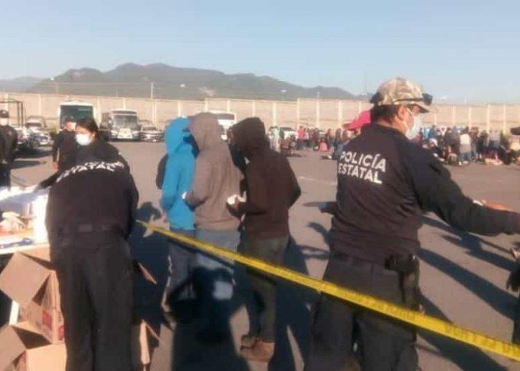 En una carretera del estado de Tamaulipas, autoridades interceptaron 652 migrantes que eran transportados en tres camiones